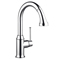 Hansgrohe Talis C Steel Optik High-Arc Kitchen Faucet