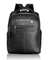 T-Tech By Tumi Forge Black Leather Backpack