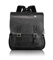 T-Tech By Tumi Forge Black Leather Brief Pack