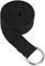 Gaiam 10 Ft. Black Cotton Yoga Strap