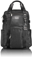 Tumi Alpha Bravo Black  Lejeune Leather Backpack