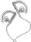 Bang & Olufsen White 3i Series Earphones