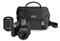 Nikon D3300 Black Digital SLR Camera With 18-55mm and 55-200mm VR Lens Kit