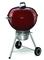 "Weber 22"" Original Kettle Premium Crimson Charcoal Grill"
