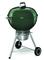 "Weber 22"" Original Kettle Premium Green Charcoal Grill"