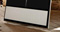 "Bang & Olufsen White Magnet Cover For 55"" Beovision 11"