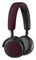 Bang & Olufsen BeoPlay H2 Deep Red On-Ear Headphones