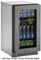 "U-Line 2218RGL 18"" Integrated Glass Door Compact Refrigerator - U-2218RGLS-00A"