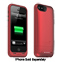 mophie Red Juice Pack Helium Battery Case For iPhone 5