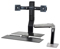Ergotron Workfit-A Dual Monitor Sit-Stand Workstation With Work Surface