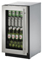 "U-Line Stainless Steel Modular 3000 Series 18"" Glass Door Beverage Center"