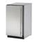 """U-Line 18"""" Stainless Steel Solid Door Compact Refrigerator"""