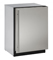 "U-Line 24"" Stainless Steel Compact Refrigerator"