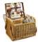 Picnic Time Botanica Collection Kabrio Wine Cheese Basket