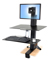 Ergotron WorkFit-S With Work Surface