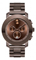 Movado Bold Brown Stainless Steel Unisex Watch