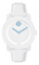 Movado Bold White Unisex Watch