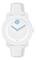 Movado Bold White Unisex Watch