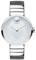 Movado Edge Silver-Toned Aluminum Dial Swiss Quartz Chronograph Women's Watch
