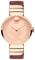 Movado Edge Rose Gold-Toned Aluminum Dial Swiss Quartz Chronograph Womens Watch