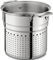 All-Clad 7 Quart Stainless Steel Pasta Colander Insert
