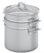 Viking Stainless Steel 3-Ply Mirror 8 Qt Multi-Cooker, Pasta Pot And Steamer  Insert