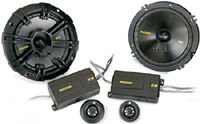 "Kicker 6.5"" CS Series Component Car Audio Speakers"