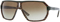 Versace Large Plastic Brown Marble Aviator Mens Sunglasses