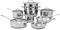 Cuisinart Contour Stainless Steel 13 Piece Cookware Set