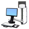 Ergotron StyleView Sit-Stand Combo System With Medium Computer Holder