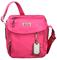 Tumi Voyageur Ceylon Pink Lugano Messenger Bag