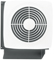 "Broan 10"" 270 CFM Through Wall Ventilation Fan"