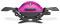 Weber Q 1200 Fuchsia Portable Liquid Propane Gas Grill