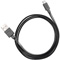 Ventev Chargesync 3.3 Ft. Black USB C Cable