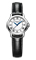 Raymond Weil Tradition Date Steel On Leather Strap Womens Watch