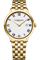 Raymond Weil Toccata 39mm White Dial On Stainless Steel With Yellow Gold PVD Plating Mens Watch