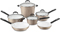 Cuisinart Elements Pink Champagne 10-Piece Cookware Set