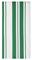 "MUkitchen 20"" X 30"" Cotton Jade Stripe Dishtowel"
