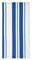 "MUkitchen Cobalt 20"" x  30"" Cotton Stripe Dishtowel"