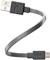 "Ventev Chargesync 6"" Gray Micro USB Cable"