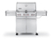 Weber Summit S470 Stainless Steel Liquid Propane Gas Grill
