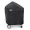 Weber Silver Charcoal Grill Black Premium Cover