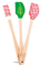 Tovolo Spatulart Holiday Set of 3 Mini Spatulas