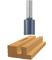 "Bosch Tools 1-1/16"" X 1-1/4"" Carbide Tipped 2 - Flute Straight Bit"