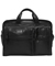 Tumi Alpha Black Organizer Portfolio Leather Brief