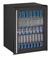 """U-Line 24"""" Black Glass Door Compact Refrigerator"""