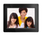 "Aluratek 12"" Widescreen Black Digital Photo Frame"