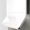 "Zephyr 36"" Arc Horizon Collection White Range Hood"
