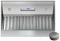 "Zephyr 36"" Monsoon DCBL Stainless Steel Hood One-Piece Liner"