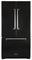 "Marvel 36"" Black Legacy French Door Counter Depth Refrigerator"